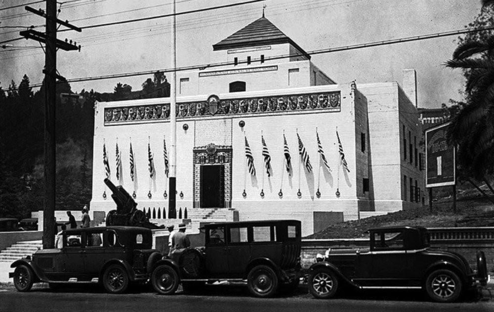 Post 43 in 1929