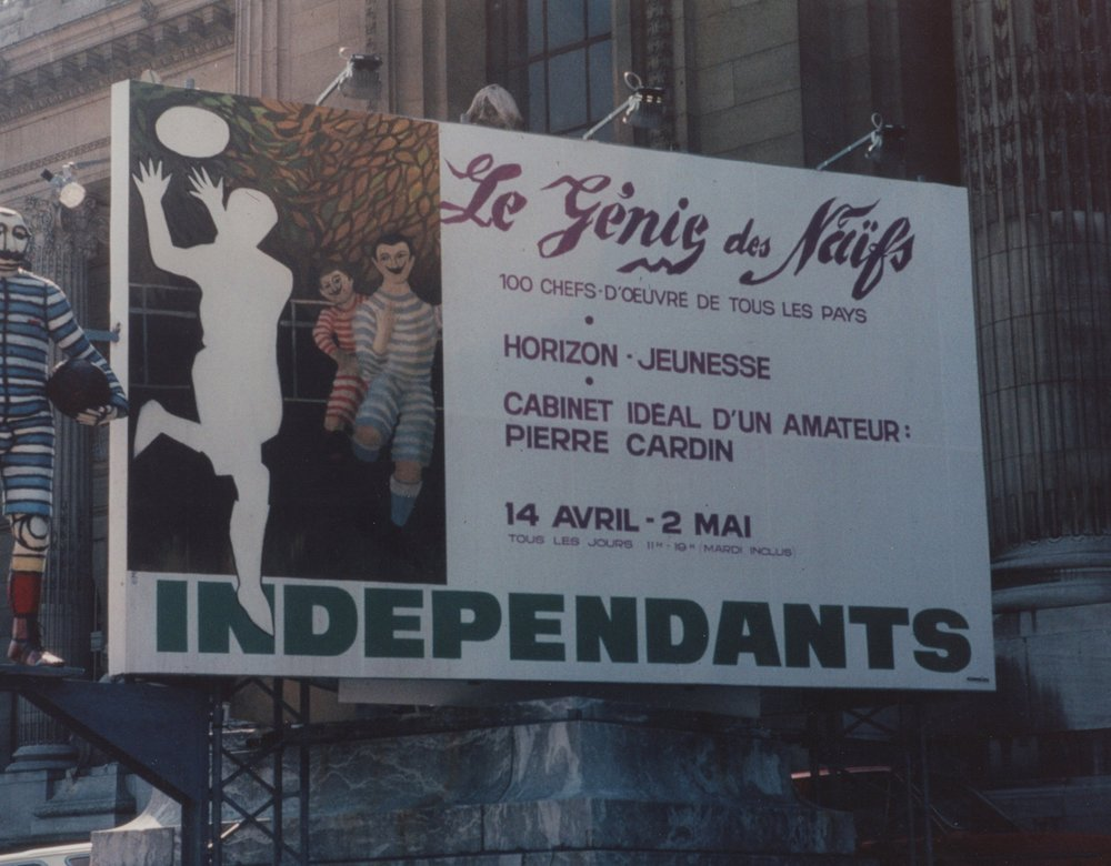1982 Salon de Indèpendants   Exhibition  Paris, France