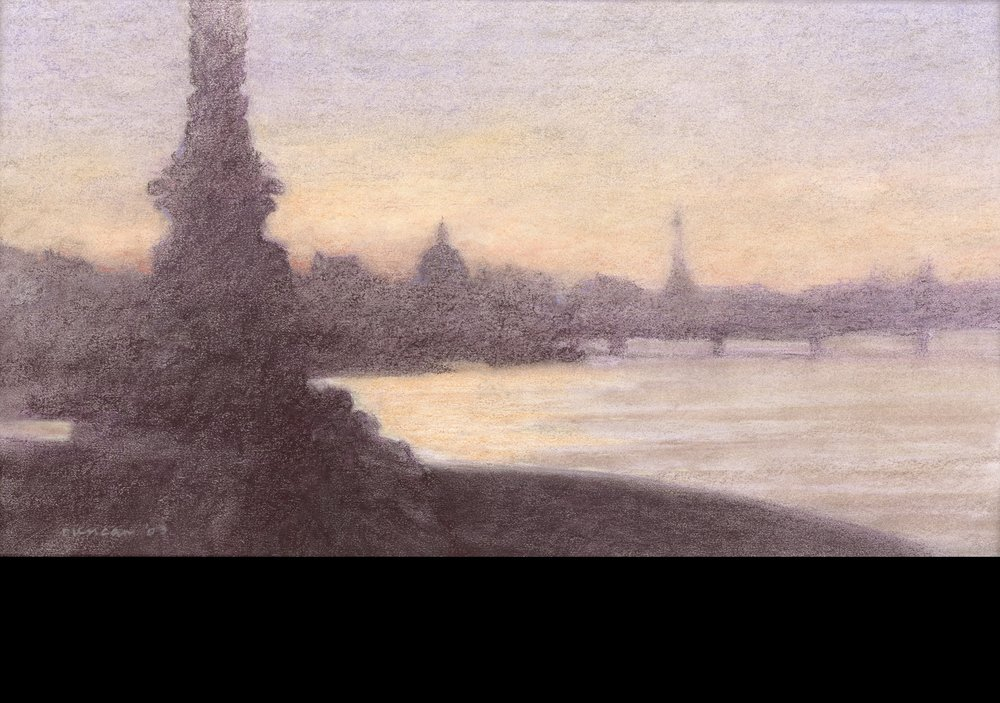 Lovers on The Pont Neuf