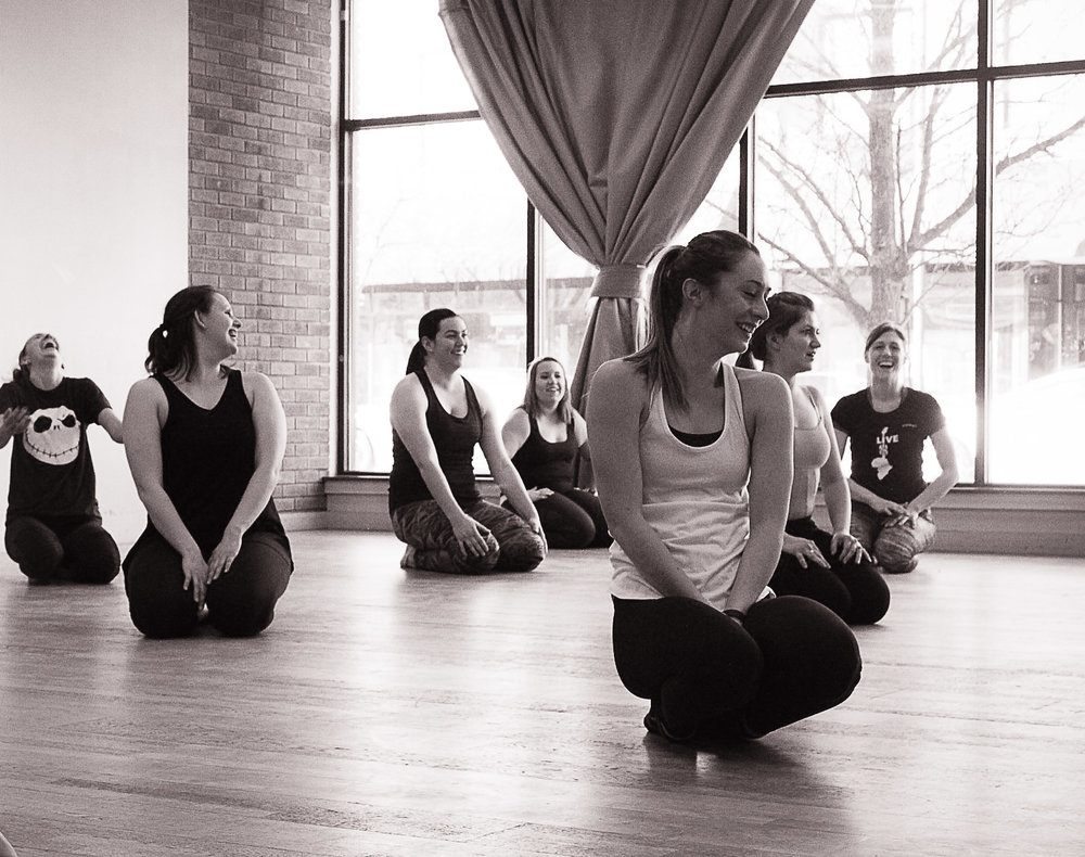Dancers participate in a Master Class lead by GRDE Dancer, Annalise Hammerlund  Photography: K Ferg Photography