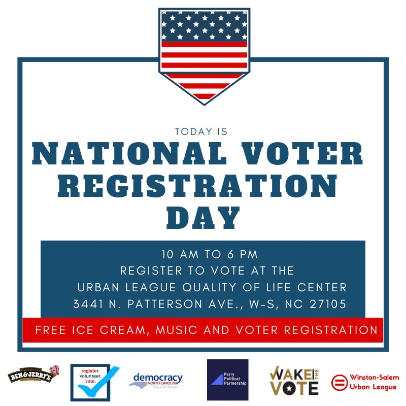 National Voter Registration Day is a holiday celebrated on the fourth Tuesday of every September. Wake Forest students participated in campus and community events.