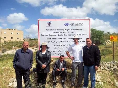 The Humanitarian Demining Project for the Hussan Village