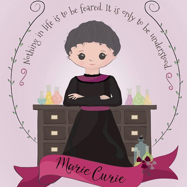 """""""Nothing in life is to be feared. It is only to be understood"""". Marie Curie  #internationaldayofwomenandgirlsinscience"""