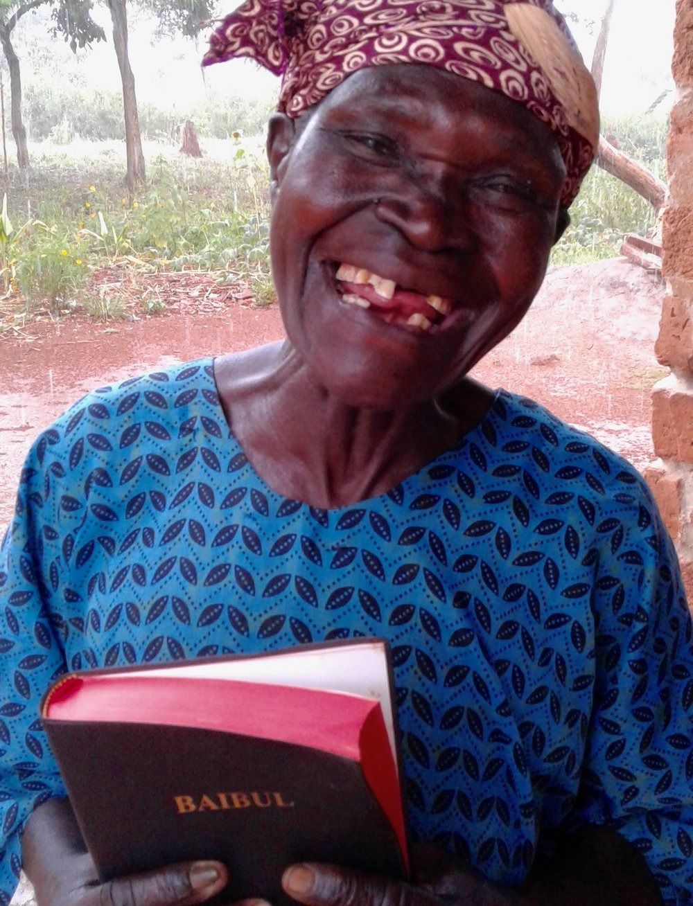 Over 3,000 Bibles placed in eager hands. -