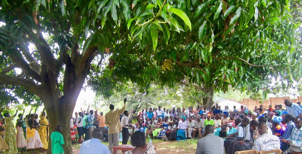 3,500 people in villages participating in weekly discipleship. -
