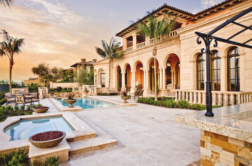Contemporary-Italianate-Rear-Exterior-Pool-Patio-Archways-Corbin-Reeves.jpg