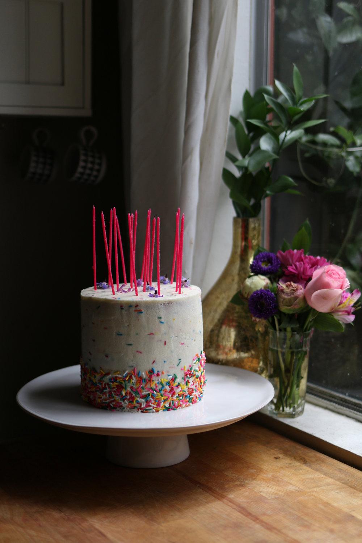 Sprinkle Cake | Leesa Morales.jpg