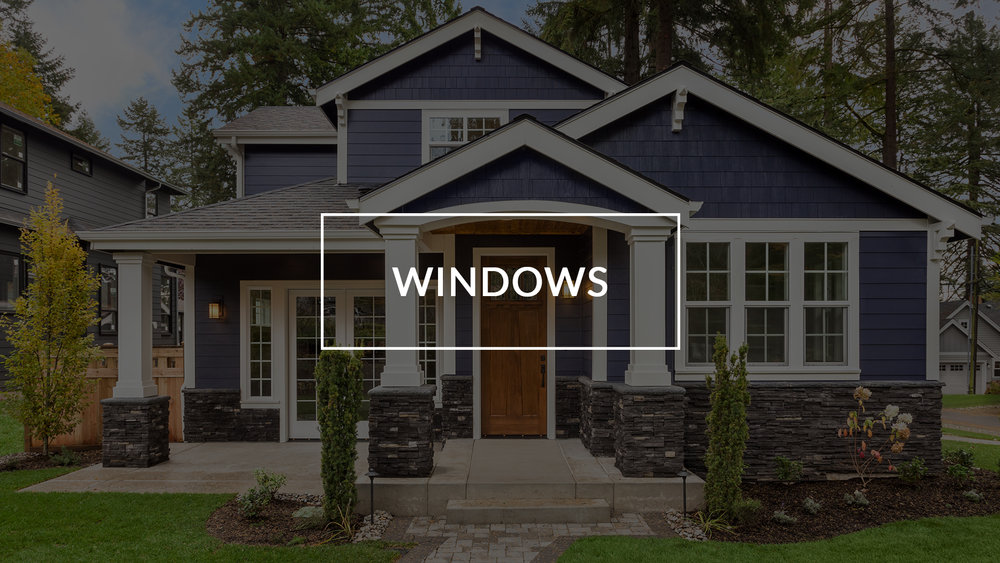 Windows are an integral part of the security, look and the all-important resale value of your home.