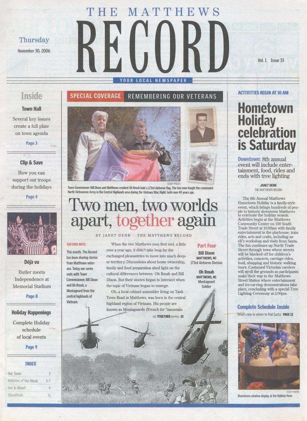 tbt november 6 2006 front.jpg