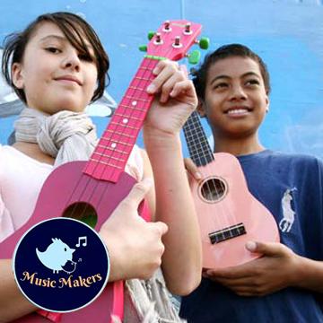 Music Makers Ukulele & Lessons