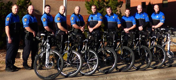 Photo of the    Police Bicycle Patrols Officers