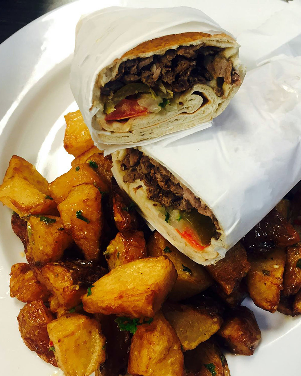 Kebab-JeWhy? Sometimes you need a really good falafel. Authentic Lebanese food in a cozy atmosphere. - kababje.com2233 Matthews Township Pkwy Ste E (In Sycamore Commons)T-Sa 11 AM - 9:30 PM, Su 11 AM - 9 PM, closed Monday(Photo source Facebook)