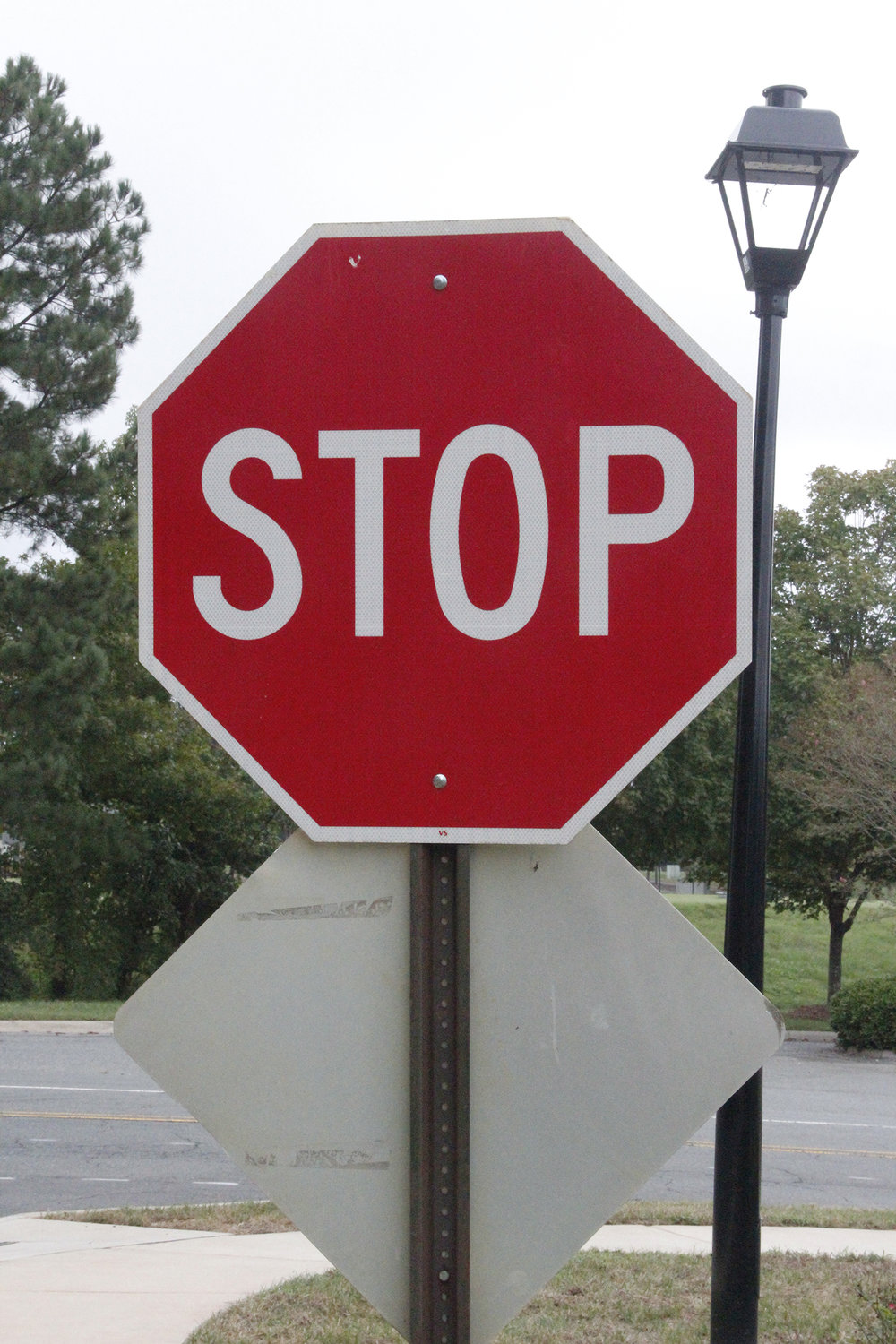 Need a stop sign replaced? Call Public Works or NCDOT.