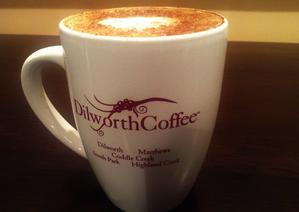 Dilworth Coffee,3016 Weddington Rd #600. We've had more than one meeting here. The vibe is cozy and the staff is friendly, and the coffee isn't pretentious. - Photo via Dilworth Coffee