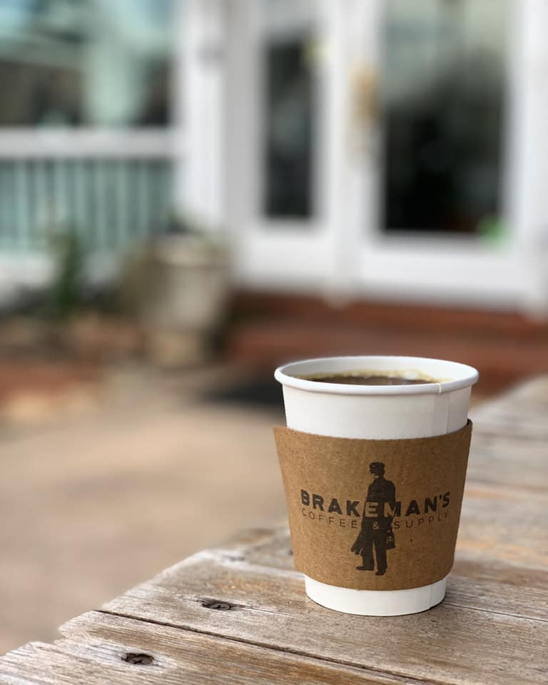 Brakeman's Coffee, 225 N. Trade Street. Who doesn't love Brakeman's? It's tough to find a table sometimes, so we get the coffee to go and find another spot in Matthews to catch up on all things Beacon. - Photo via Brakeman's