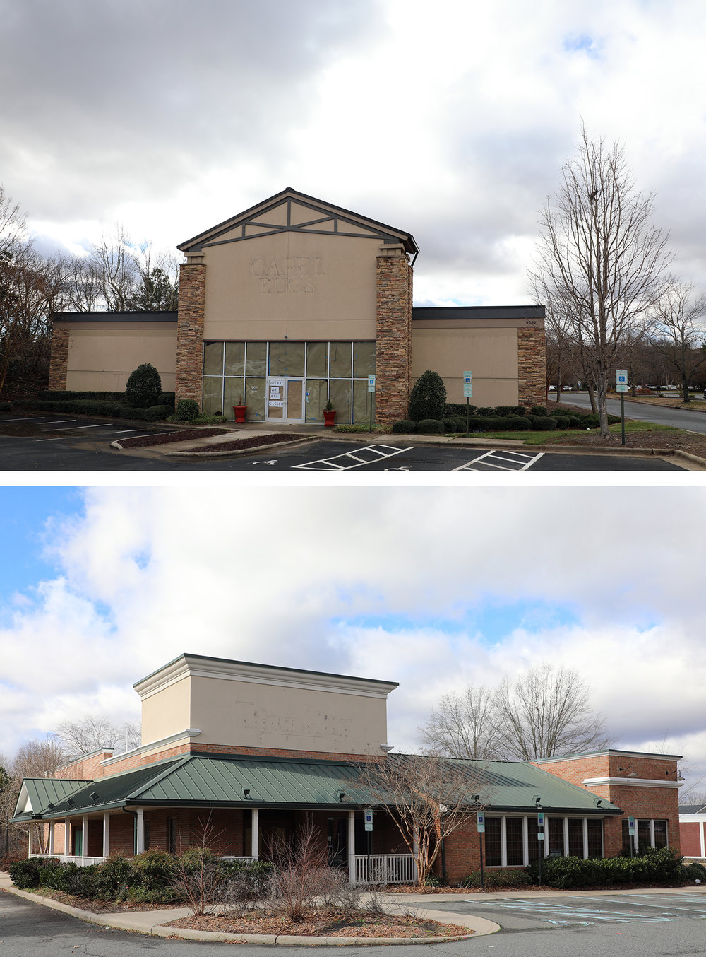 Ashley HomeStore licensee Broad River Retail announced plans to open a HomeStore Outlet in the former Capel Rug Outlet store (9632 E Independence Blvd.). Just down the road, Discount Tire has requested rezoning at the former Tilted Kilt location (1625 Windsor Square), which has been vacant since 2015. The tire retail chain would like to raze the current building to construct a new store. In 2018 the ABC Board applied to rezone the site but was denied. Since the ABC Board was denied rezoning within the last 12 months, Discount Tire must request special permission from the Planning Board to apply for rezoning. -