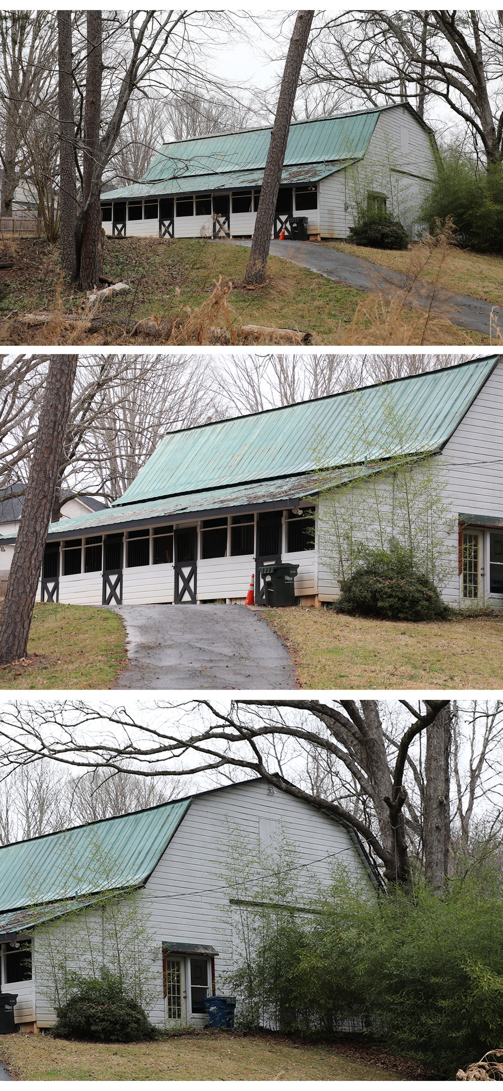 Hickory Hill Barn: There's little on public record about this structure, but probably was built around 1960. -
