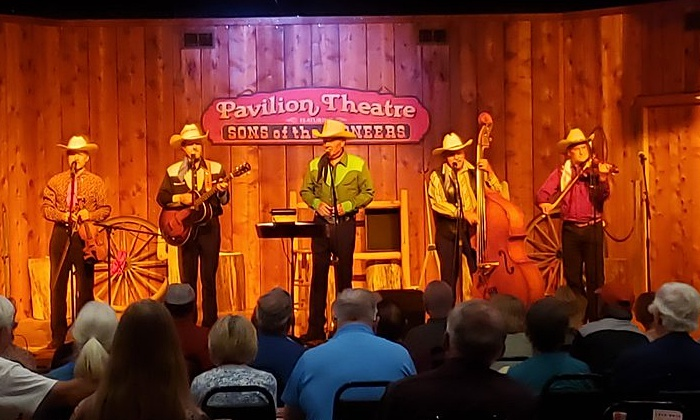 We had a great time this fall at the Shepherd of the Hills Pavilion Theater.