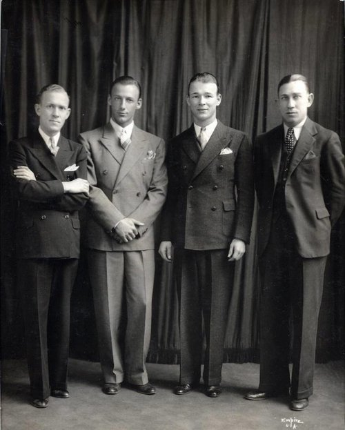 Looking their best in 1933