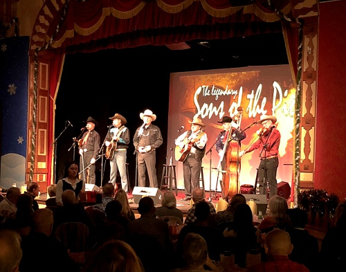 One of 5 sold-out shows at the Gaslight Theater in Oro Valley, AZ.