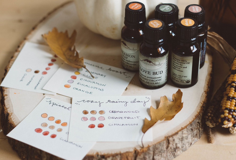 Fall Essential Oil Blends