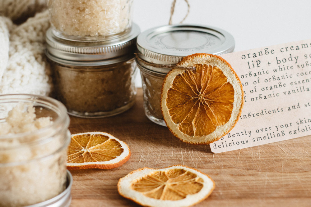 Orange Creamsicle Body Scrub