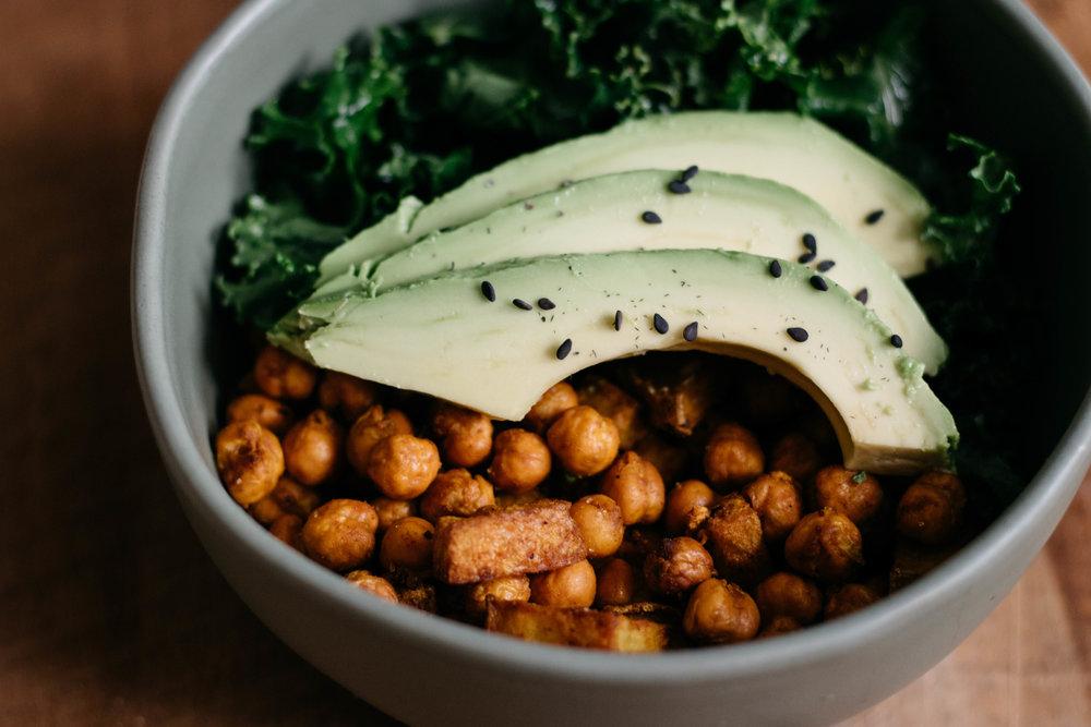 anti-inflammatory vegan buddah bowl