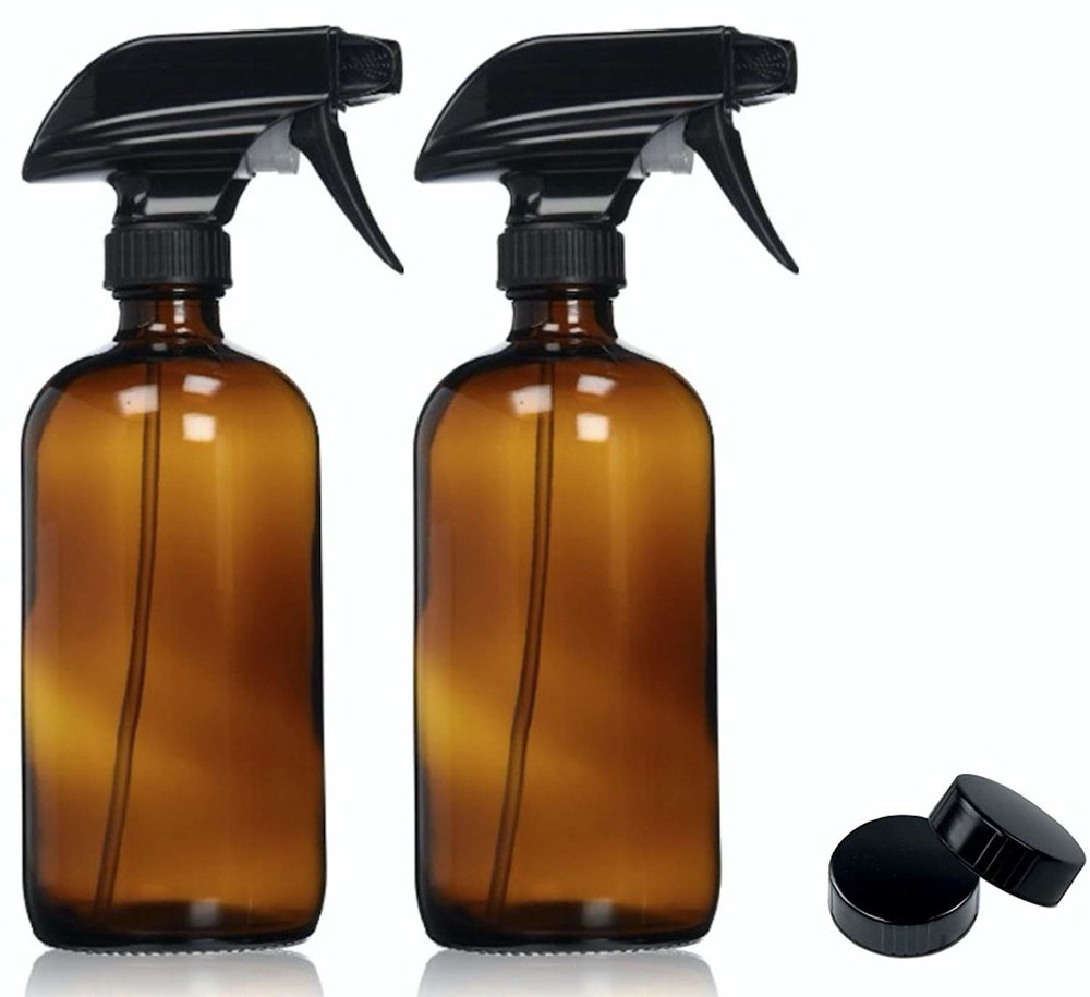 Amber Spray Bottles