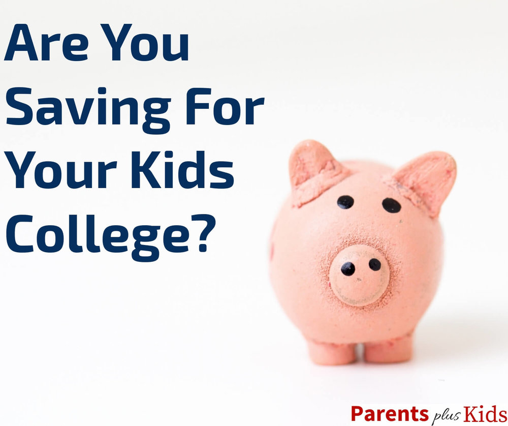 One of the advice for soon to be parents is to save for their child's college if they have the disposable income.