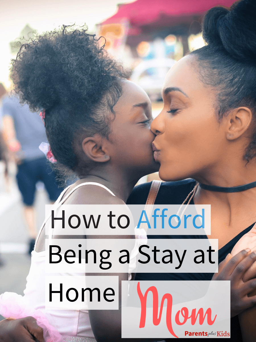Do you wan to be a stay at home mom with your kids? This article is going to give you some tips, tricks, advice and hacks to budget your family finances and live on one-income so you can make your dream happen.  #stayathomemom #newmom