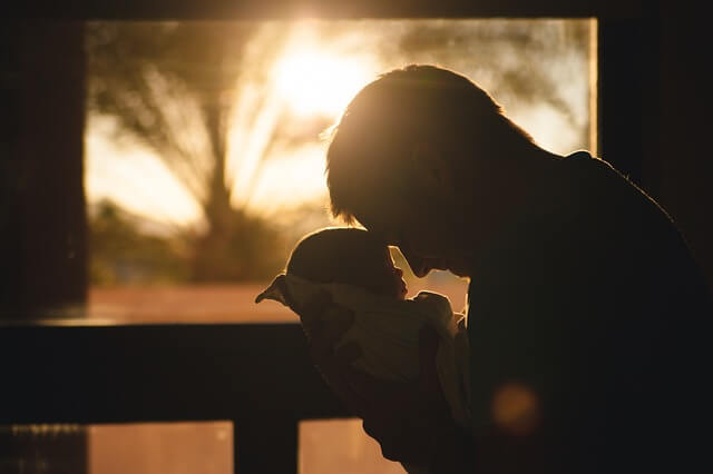 A good dad always loves his kids.
