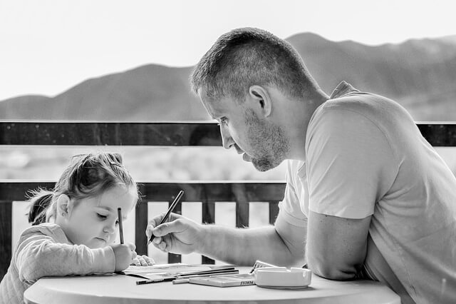 A dad needs to be present and involved with his kids.