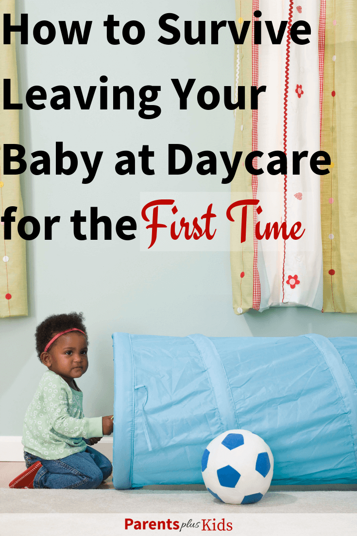 Tips, tricks, hacks and advice to learn how to survive leaving your baby at daycare. First day of daycare . Parenting advice to help you adjust to daycare. #newmom #newdad #motherhood #newbaby #newtoddler #daycare #parentingtips
