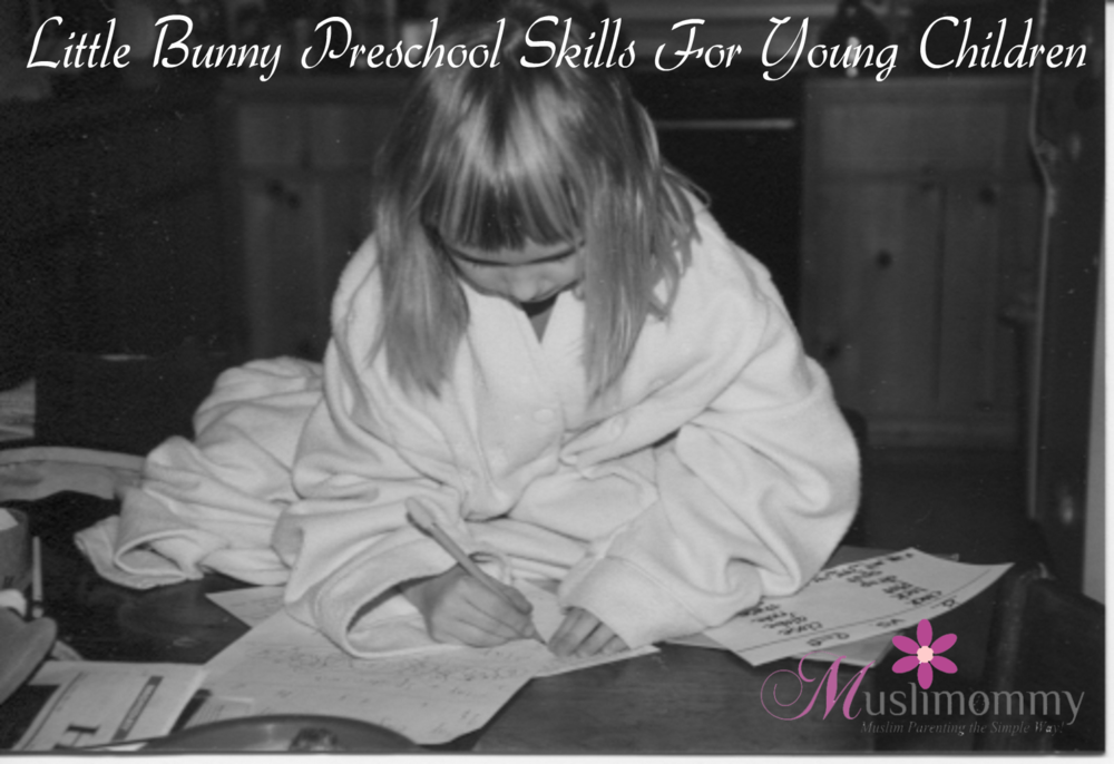 Little Bunny Preschool Skills