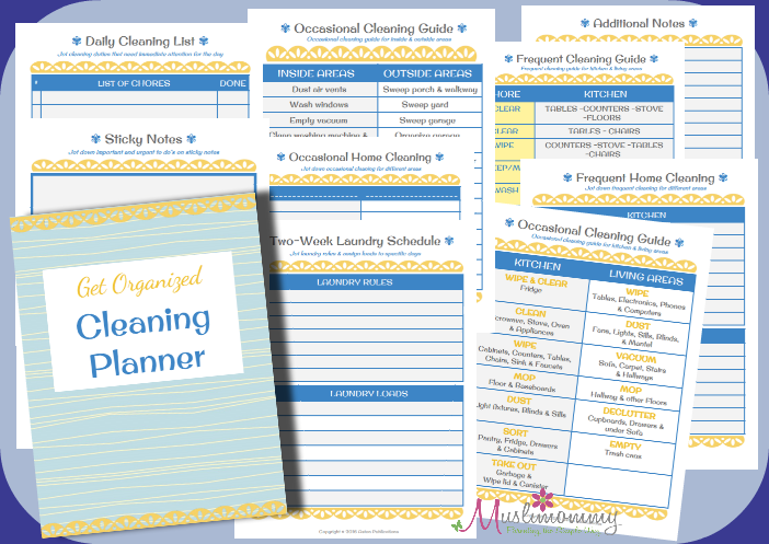 GO Cleaning Planner Set