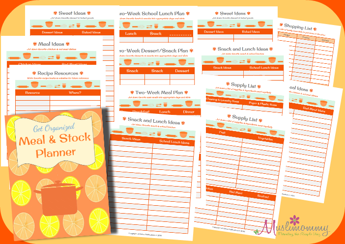 GO Meal Planner Set