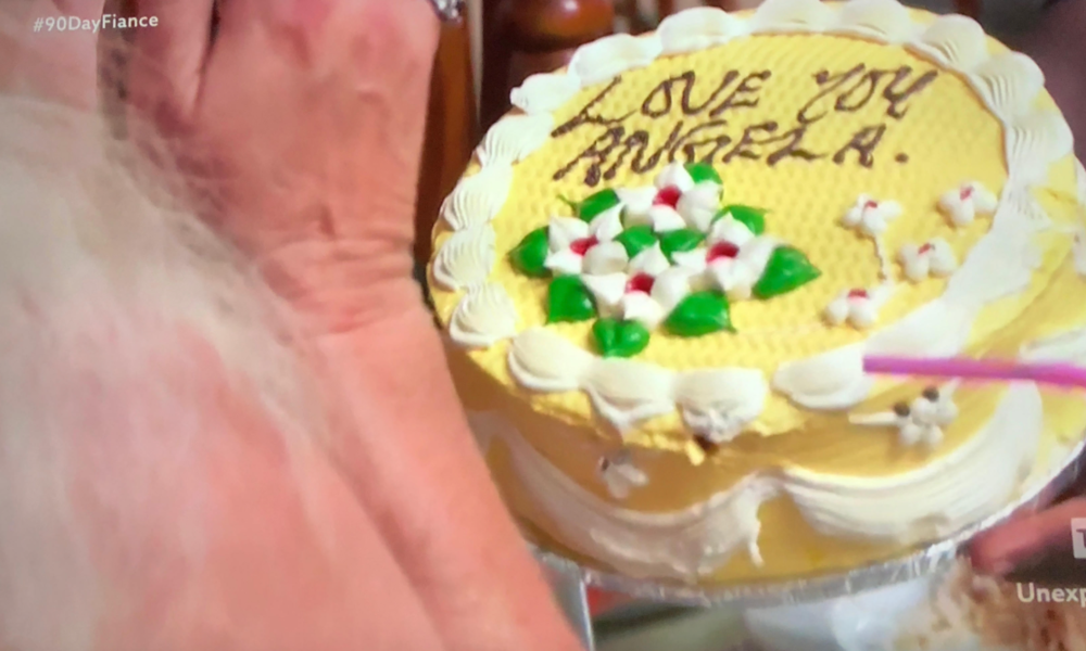 BREAKING NEWS: This cake was actually eaten!