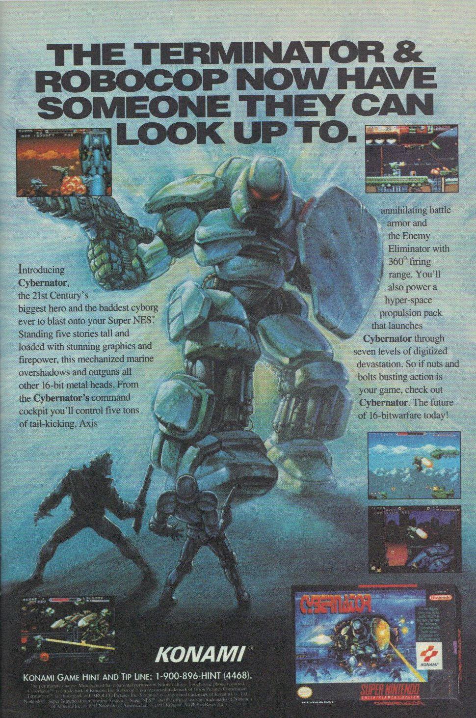 Cybernator (SNES, 1992).JPG