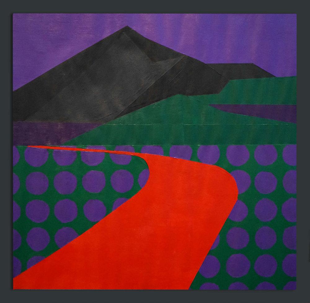 Violet Dreamscapes No.2