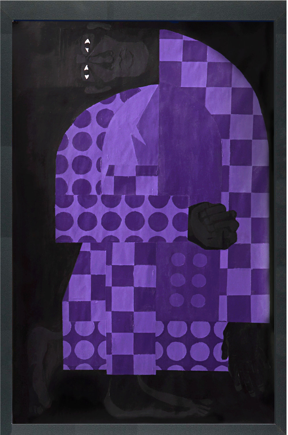 Man in the Violet Suit No. 4