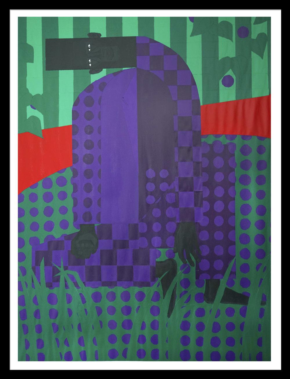Man in the Violet Dreamscape No.5