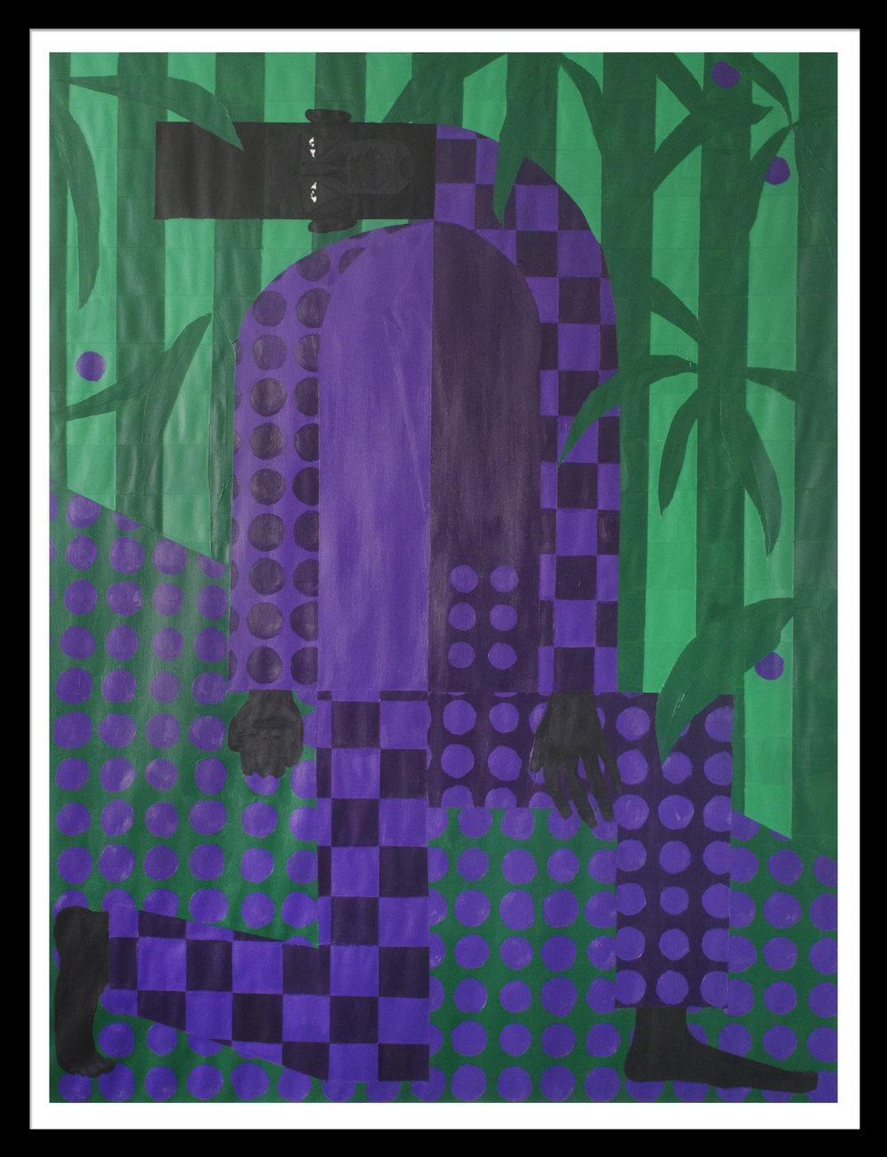 Man in the Violet Dreamscape No. 4