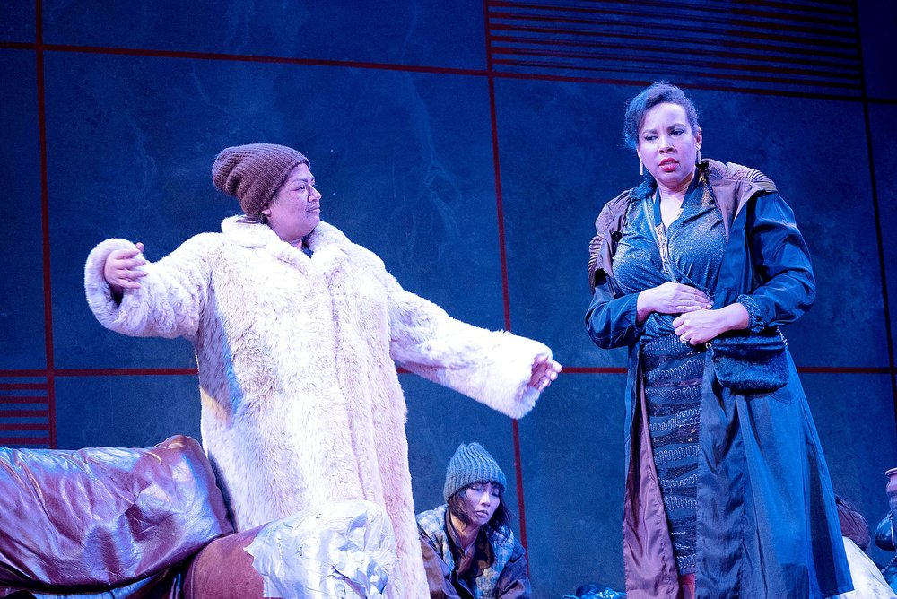 Amelia in  Un Ballo in Maschera  with Opera in the Heights