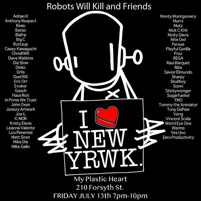 Thrilled to announce that I'll have one of my brand new collages in this exhibition curated by @chrisrwk at @myplasticheart • #robotswillkill #myplasticheart #artexhibition #artgallery #artwork #art #artist #collage #collageart #typography #typographydesign #typographyinspired #typographyart #lettering #artworks #artists #artshow #artlife #artlover #artworld #newcontemporaryart #contemporaryart #artsy #artofvisuals #arts