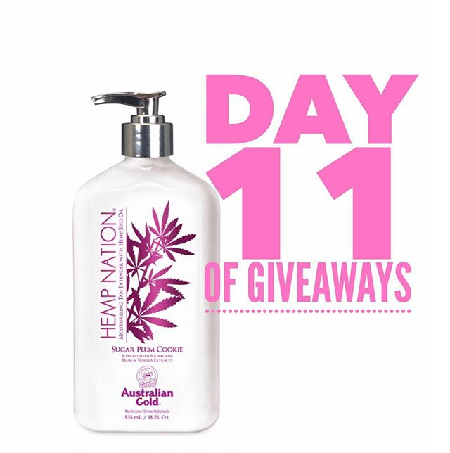 Day 11 of Giveaways! ...But have you smelled @australiangold Sugar Plum Cookie 🍪.....cause it's amazing😋  All you have to do: 1️⃣ like this post (extra points for sharing on your ig page  2️⃣ comment on our post  3️⃣ follow both our pages on fb  4️⃣ follow midnight.body on Instagram!  Winners for the 12 days of giveaways will be announced December 14th!  #australiangold #smellslikeconfetticake #twilighttanningsalon #midnightbody  @midnightbody #meetmeatmidnight #freestuff #contest #prizes #12daysofgiveaways #twilights10yearanniversary #sale #decemeber13 #brantford #ancaster #hamilton #simcoe #brant #norfolk #nailsalon #lashsalon #medispa