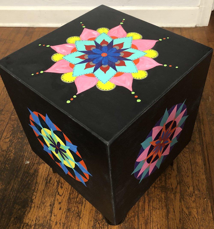 """Rebecca Marco, """"Mandala Cube"""""""