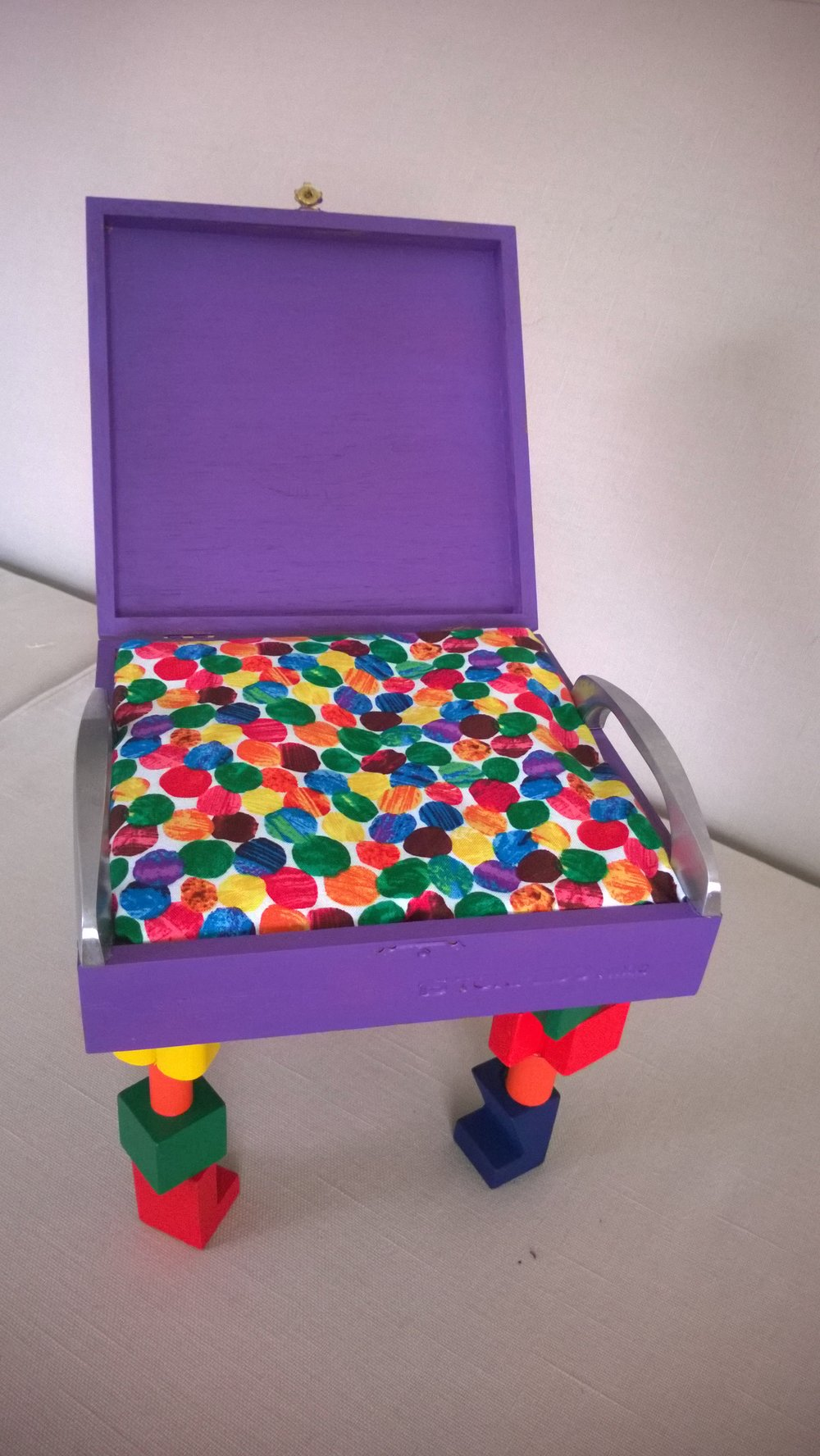 "Debby Gluckman, ""Box Becomes a Chair"""
