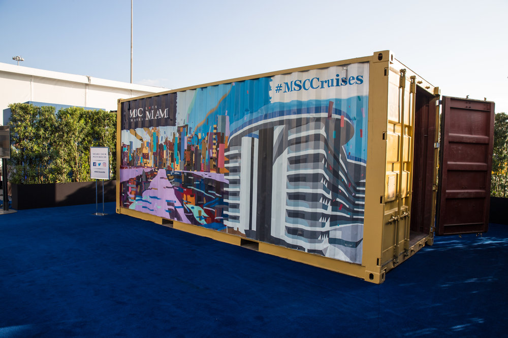 MSC Container Project