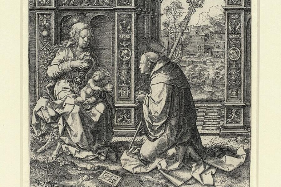 Bernard Of Clairvaux On Kisses In The Song Of Songs