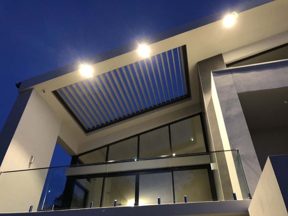 Insert - The Vergola® system is custom built to suit your needs and as such we can build to suit an existing frame or built into an existing roof structure